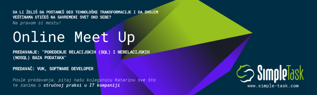 Online Meet Up - IT kompanija Simple Task